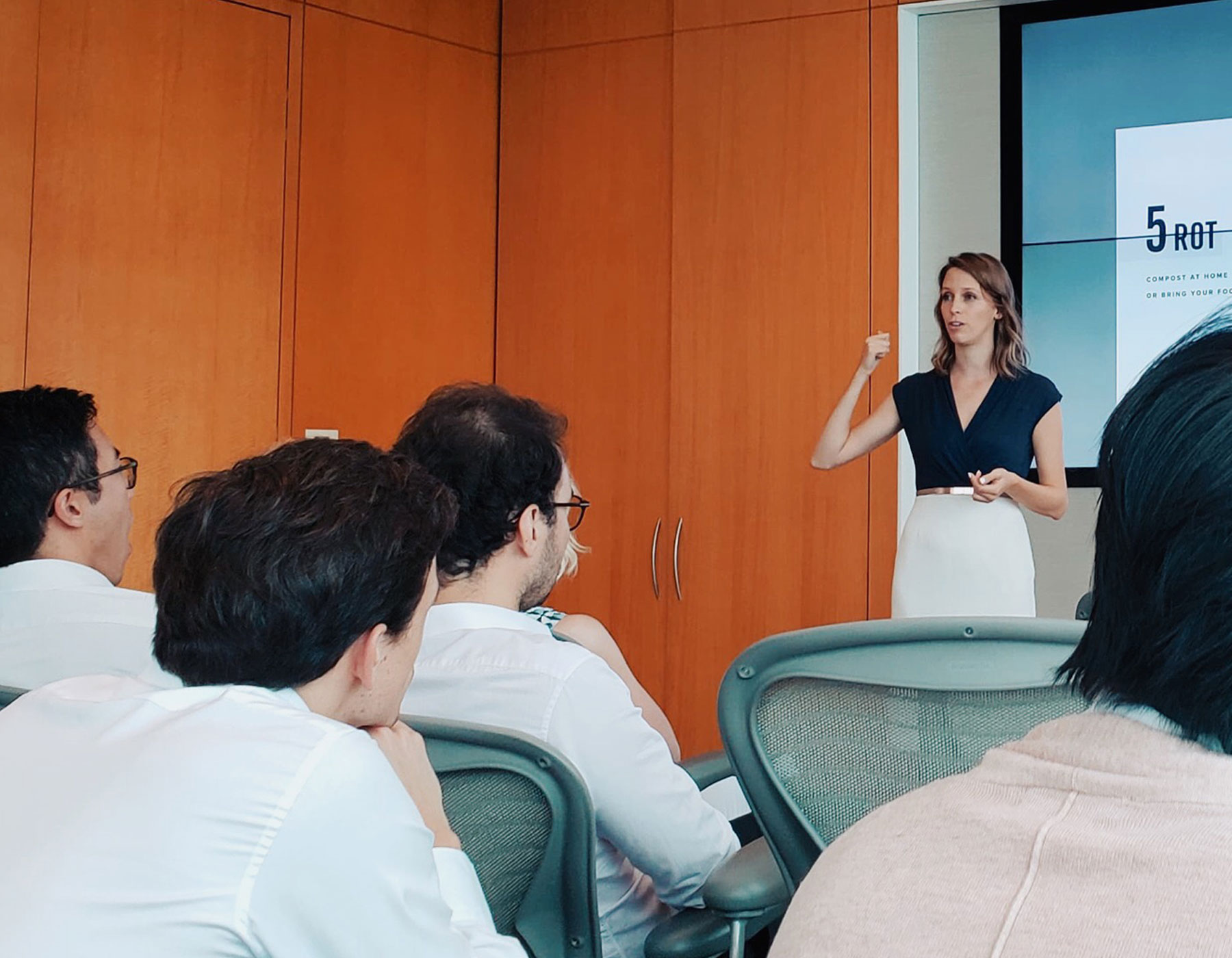 Talk about Zero Waste and sustainability at BNP Paribas - Hong Kong - September 2019