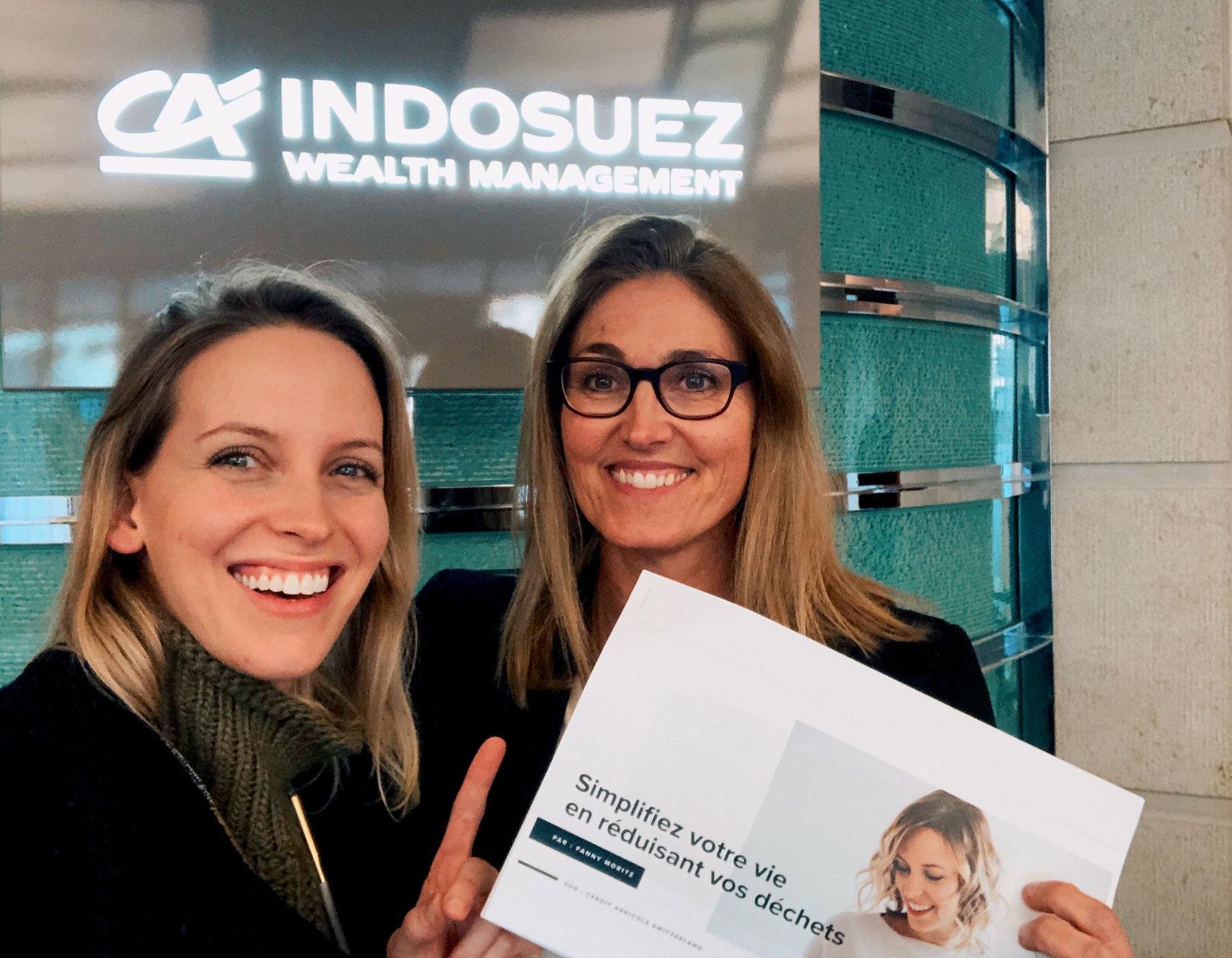 Conférence Zéro Déchet pour Indosuez - Suisse - Janvier 2020