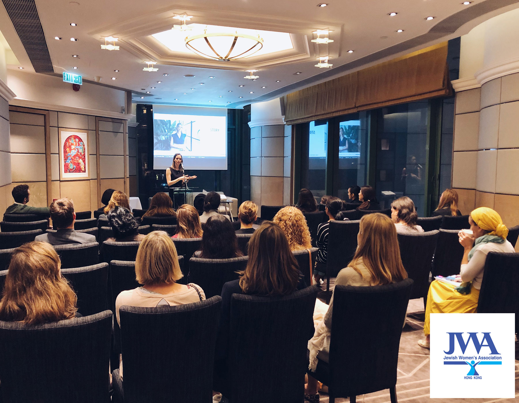 Talk about Zero Waste and sustainability at Jewish Women Association - Hong Kong - April 2019