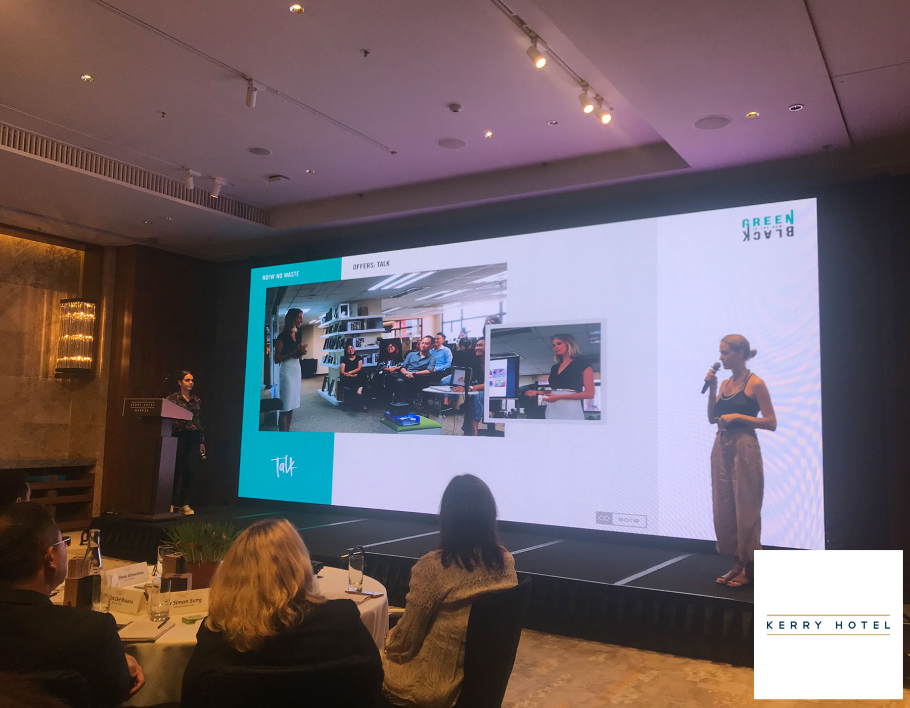 Talk about Zero Waste and sustainability at Kerry Hotel - Hong Kong - August 2018