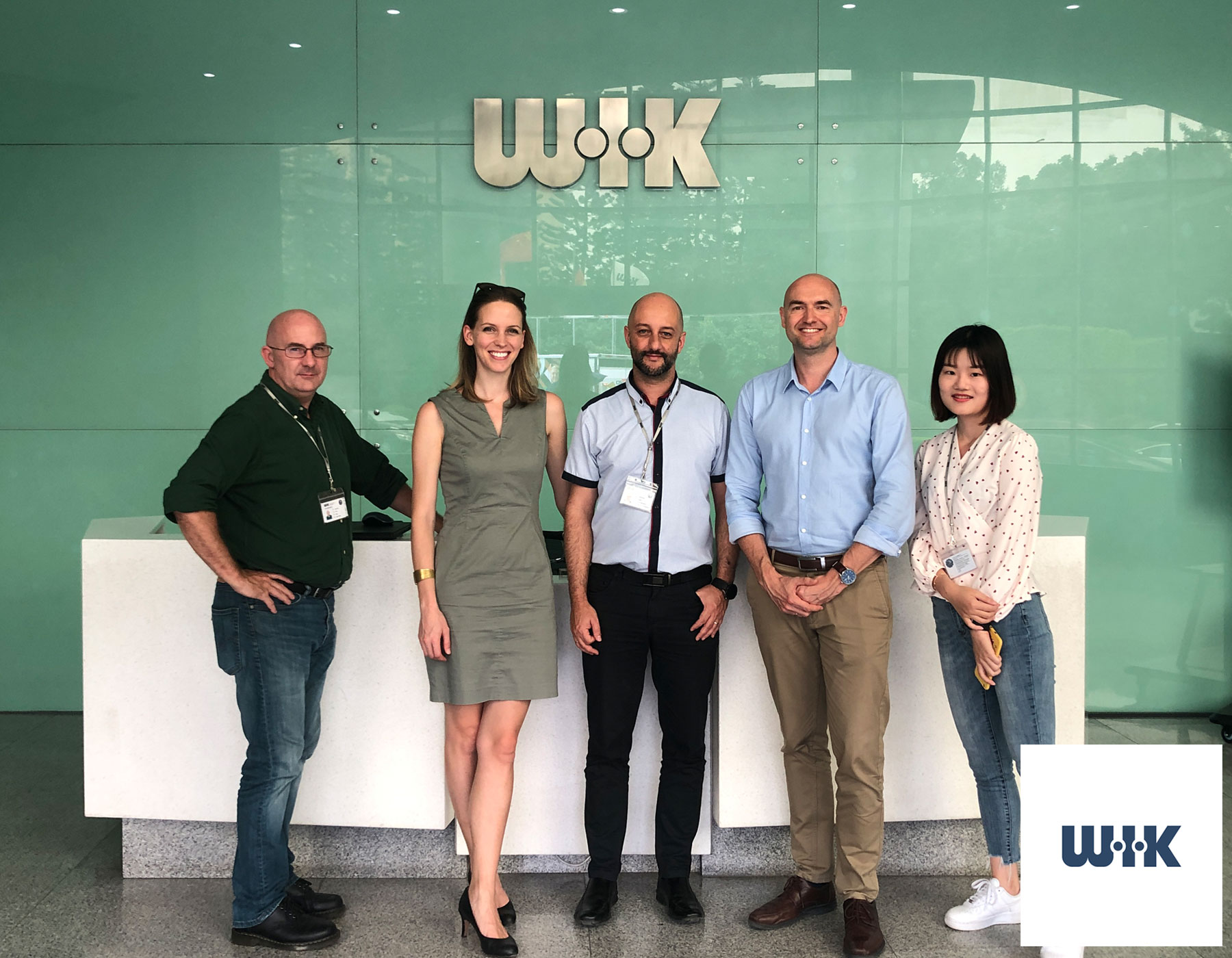 Talk about Zero Waste and sustainability at  WIK Group China